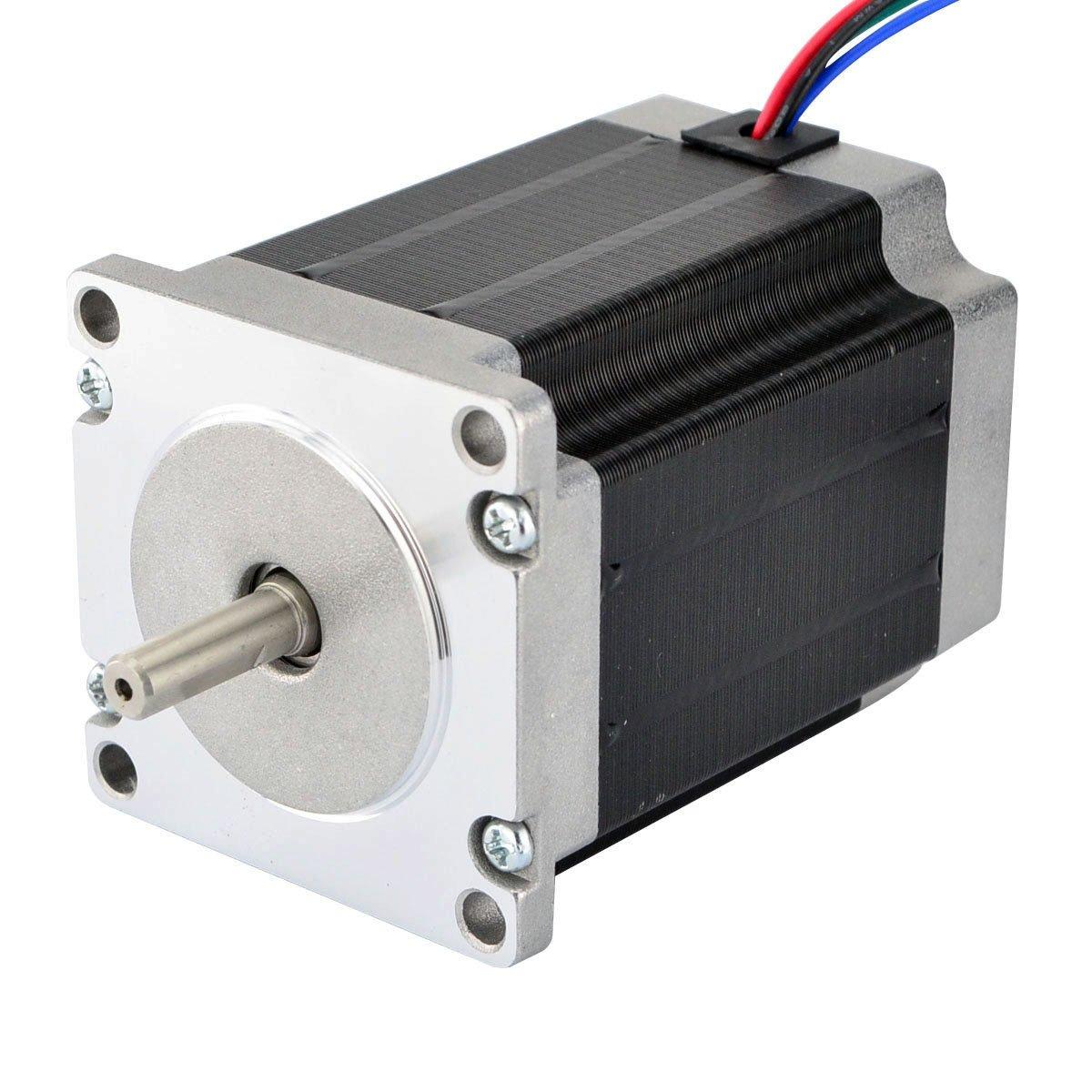 CNC Stepper Motor Nema 23 Bipolar 2.8A 269oz.in/1.9Nm CNC Mill Lathe Router