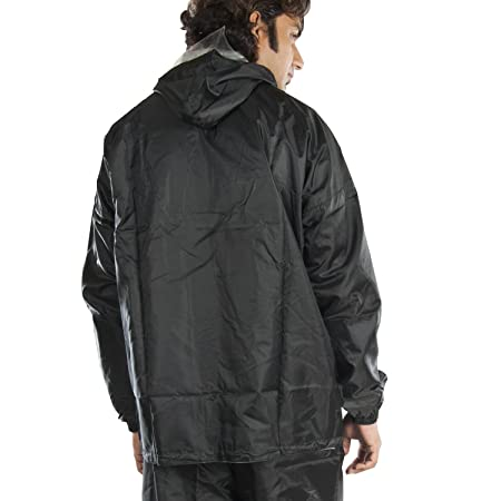 2df3090a9 New-Era Galaxy Men's Polyester Raincoat Black_XXL: Amazon.in: Sports,  Fitness & Outdoors