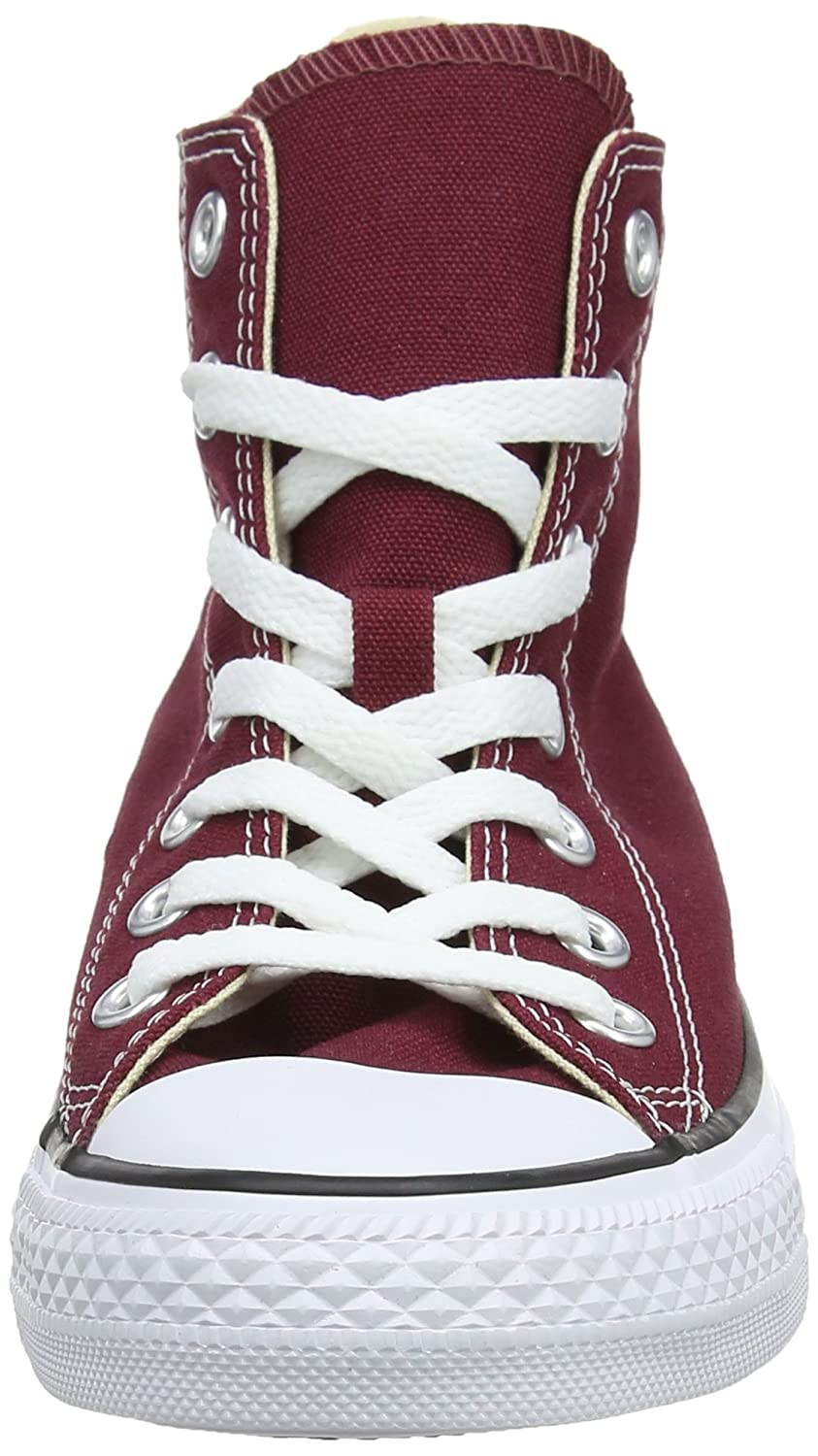 Converse Unisex Chuck Taylor All-Star High-Top Casual Sneakers in Classic Style and Color and Durable Canvas Uppers B002T9VKIG 13 D(M) US |Maroon