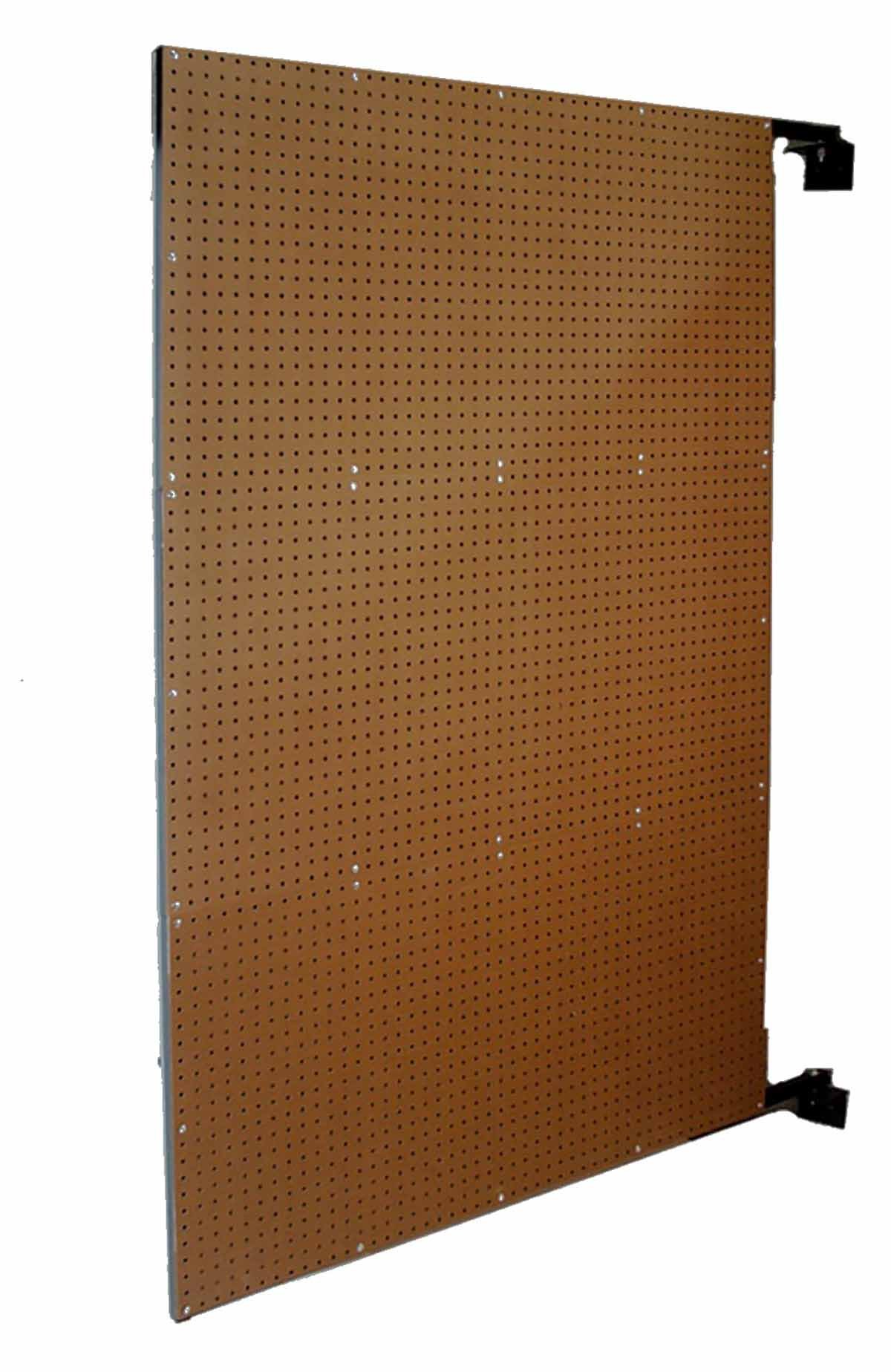 Triton Products W-1 XtraWall Wall Mount Double-Sided Swing Panel Pegboard 48 Inch W x 72 Inch H x 1-1/2 Inch D