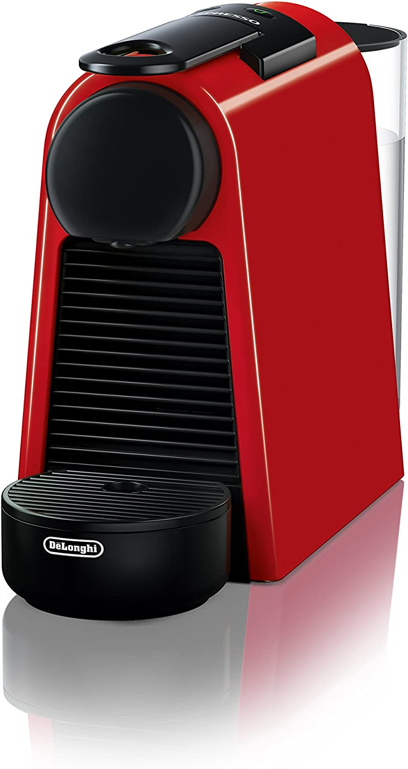 Nespresso by De Longhi EN85R Essenza Mini Original Espresso Machine by De Longhi, Red