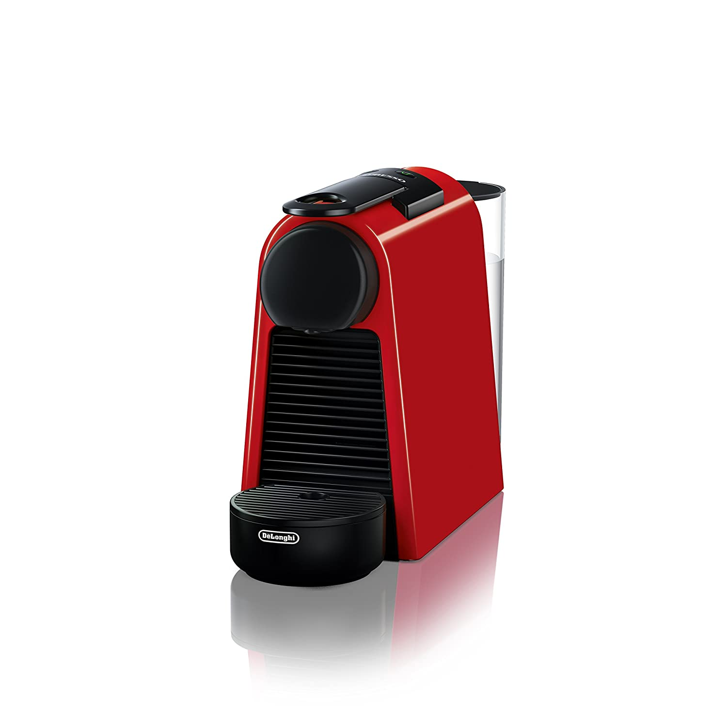 Nespresso Essenza Mini Espresso Machine by De'Longhi, Red