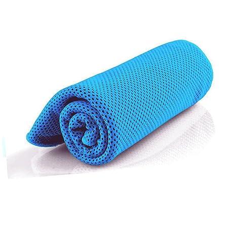 Toalla de refrigeración absorbente para alivio instantáneo, toalla extra suave para hombres, mujeres,