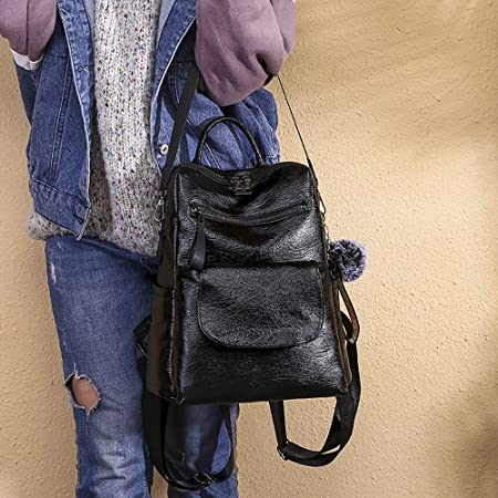 Amazon.com: UATECH Xiniu Newest Women Double Shoulder Bag Multi-Function Large Capacity Wild Casual Backpack Botas Feminina: Home & Kitchen