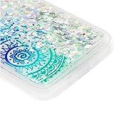 J3 Case, J3 Emerge Case, Liquid Glitter Case Bling