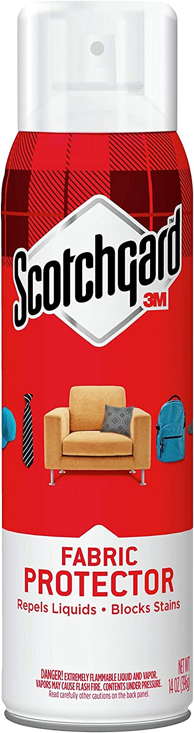 Scotchgard Fabric & Upholstery Protector, Repels Liquids, Blocks Stains, 14 Ounce