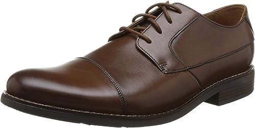 TALLA 43 EU. Clarks Becken Cap, Zapatos de Cordones Derby para Hombre