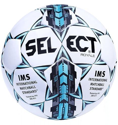 Select Royale - Balón de fútbol para Adulto, Unisex, Color Blanco ...