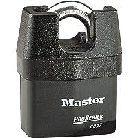 MASTER LOCK Candado Alta Seguridad y Estanco [Llave] [Arco Protegido] [Exterior] [CEN Insurance Approved] 6327EURD…