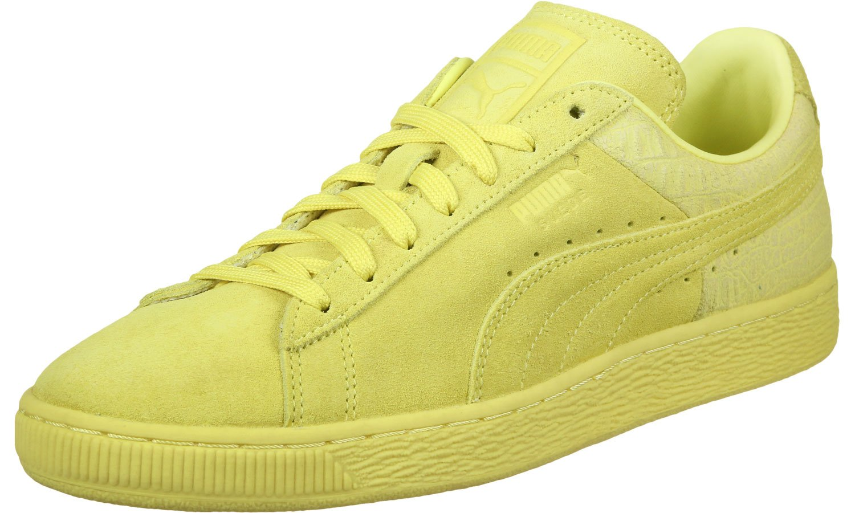 Puma Unisex-Erwachsene 361372 Sneaker, Violett  46 EU|Gelb Neon