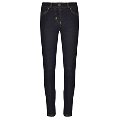 e9d05b4a263fa Amazon.com: A2Z 4 Kids® Girls Skinny Jeans Kids Black Stretchy Denim  Jeggings Fit Pants Trousers 5-13 Yr: Clothing