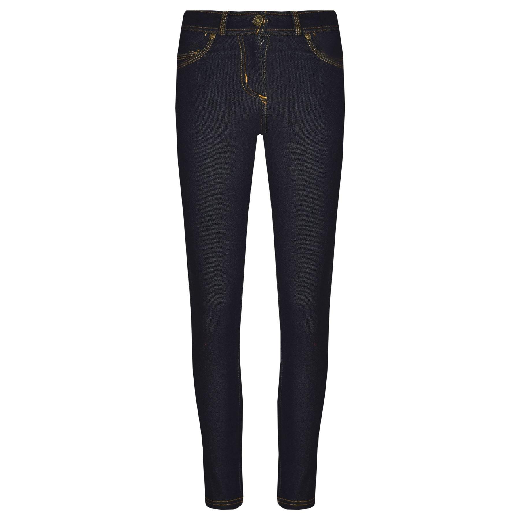 A2Z 4 Kids® Girls Skinny Jeans Kids Black Stretchy Denim Jeggings Fit Pants Trousers 5-13 Yr