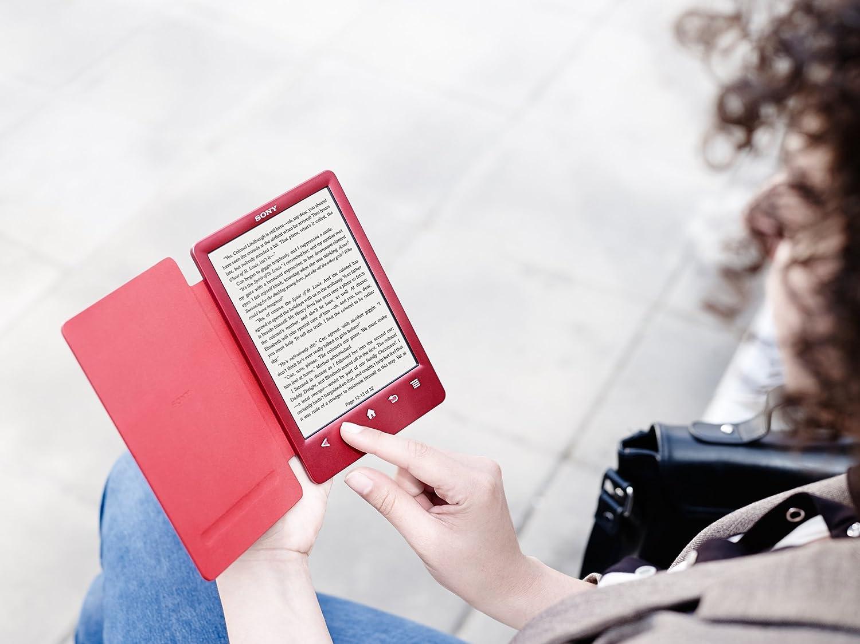 Sony Reader PRS-T3/RC - Lector de libros electrónicos, color rojo ...