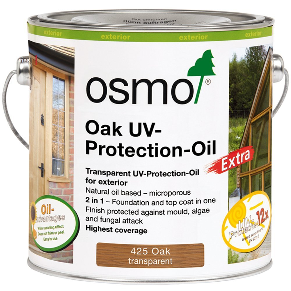 Osmo 425D 2.5 Litre UV Protection Oil with Active Ingredients - Oak