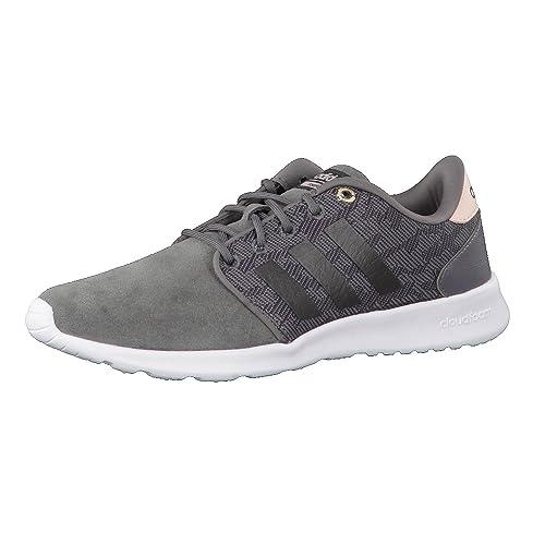 adidas CF Qt Racer W, Zapatillas de Deporte para Mujer: Amazon.es: Zapatos y complementos
