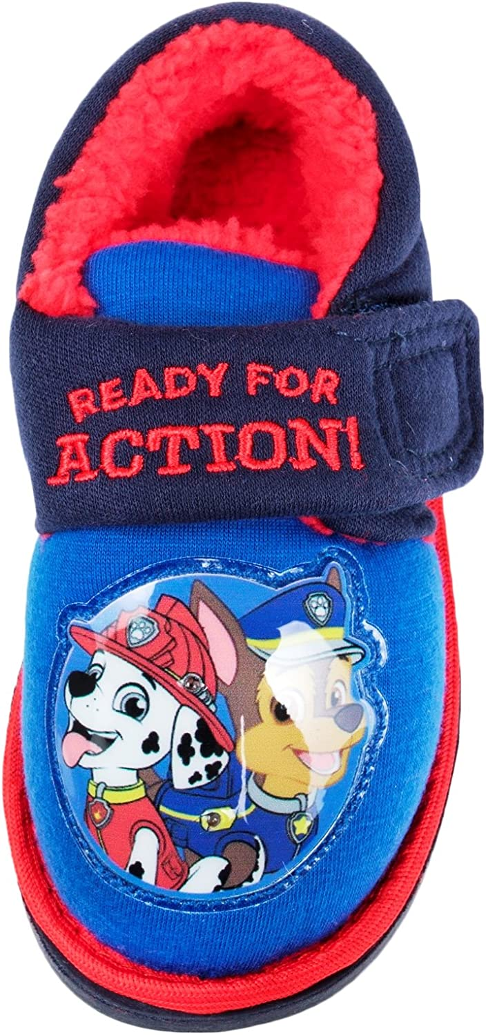 Paw Patrol Slippers Fleece Lining Light Up on The Front