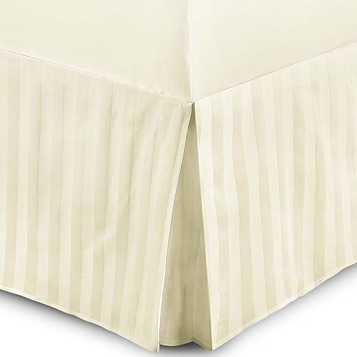 3 opinioni per Hotel qualità T230strisce 100% cotone egiziano Lenzuolo mantovana per letto