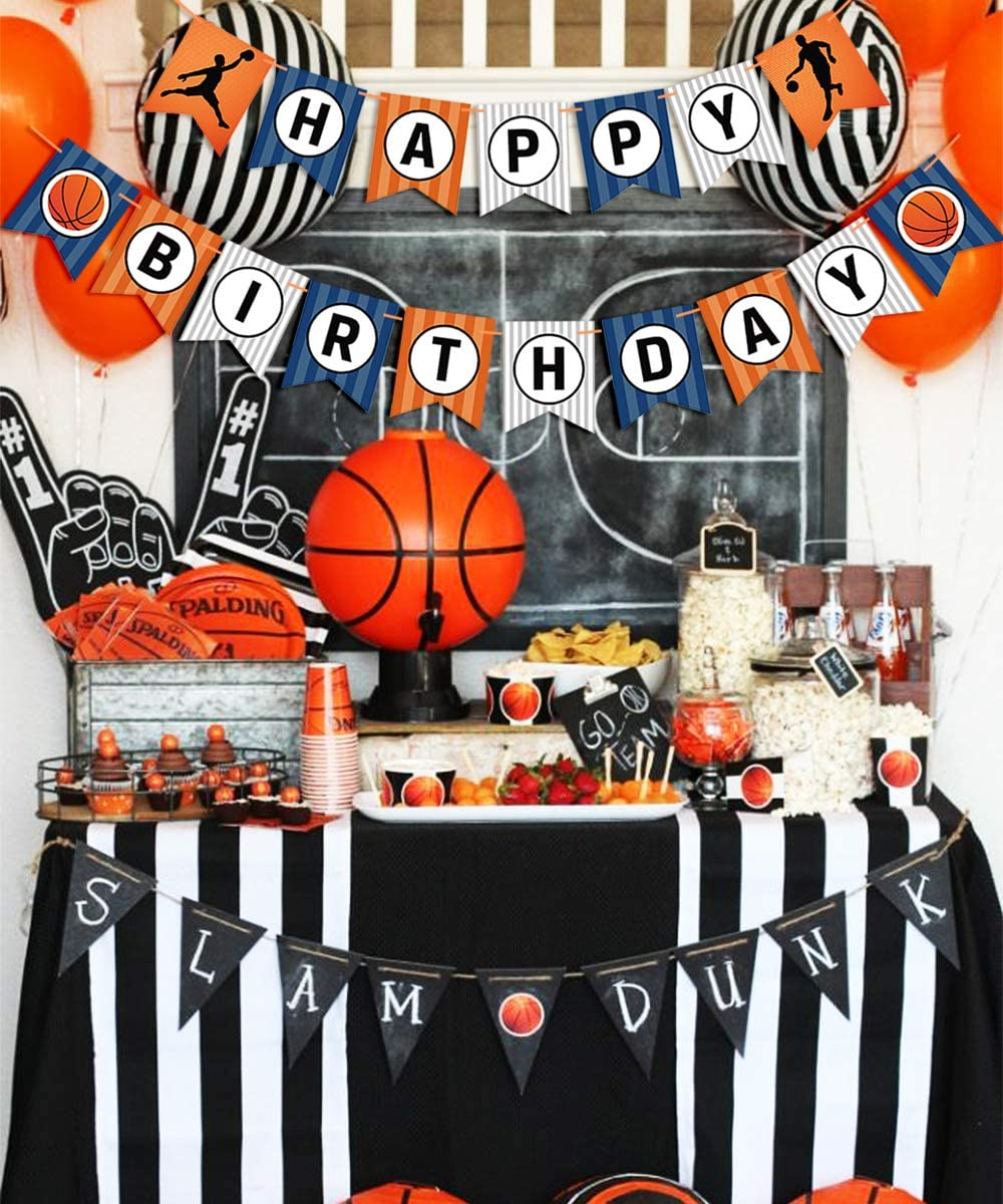 Decoraciones para fiestas de baloncesto Conjunto de arco de globos ...