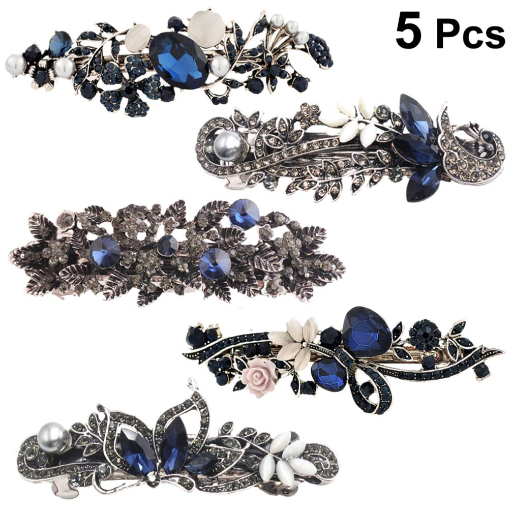 Butterfly Hair Claw Women Crystal Rhinestone Hair Clip Clamps Hairpin Accessory