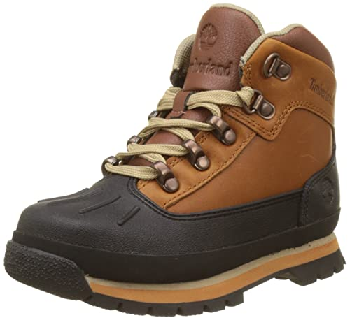 cinturón Aplastar agudo  Timberland Unisex Kids' Euro Hiker Chukka: Amazon.co.uk: Shoes & Bags