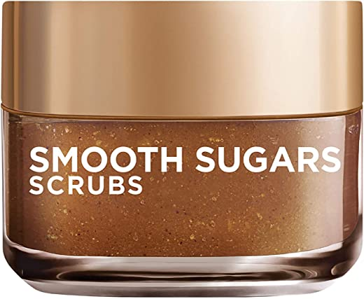 L'Oreal Paris Smooth Sugar Scrubs with Grapeseed Oil For Radiant Glowing Skin, 50Ml