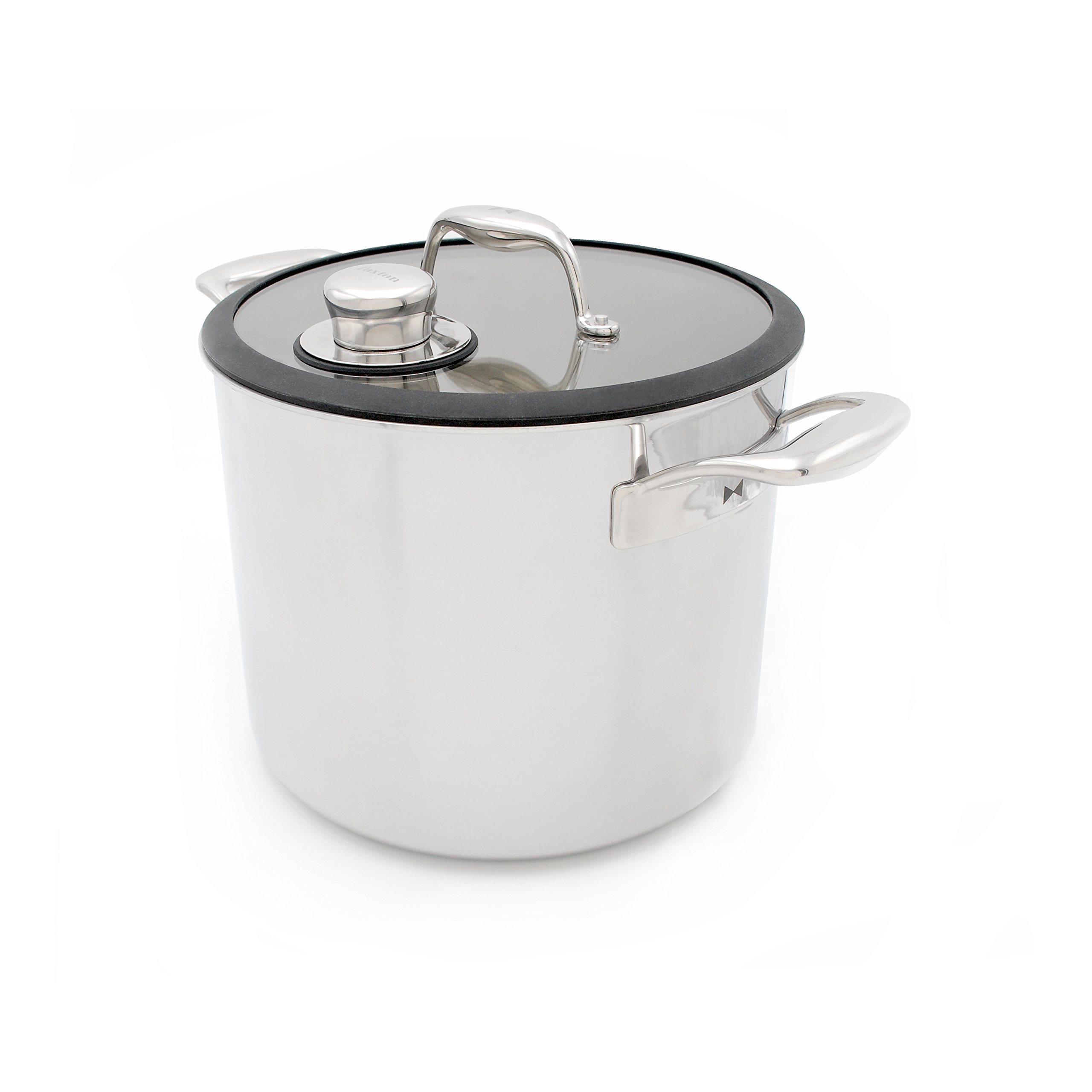 Tuxton Home THBCZ3-SS9-G Chef Series Sous Vide Pot Specialty Stockpot, 9.8 quart, Stainless steel by Tuxton Home (Image #4)