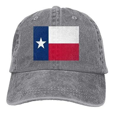 Agoyls Gorra Trucker Cap Gorra béisbol Transpirable Flag of Texas ...