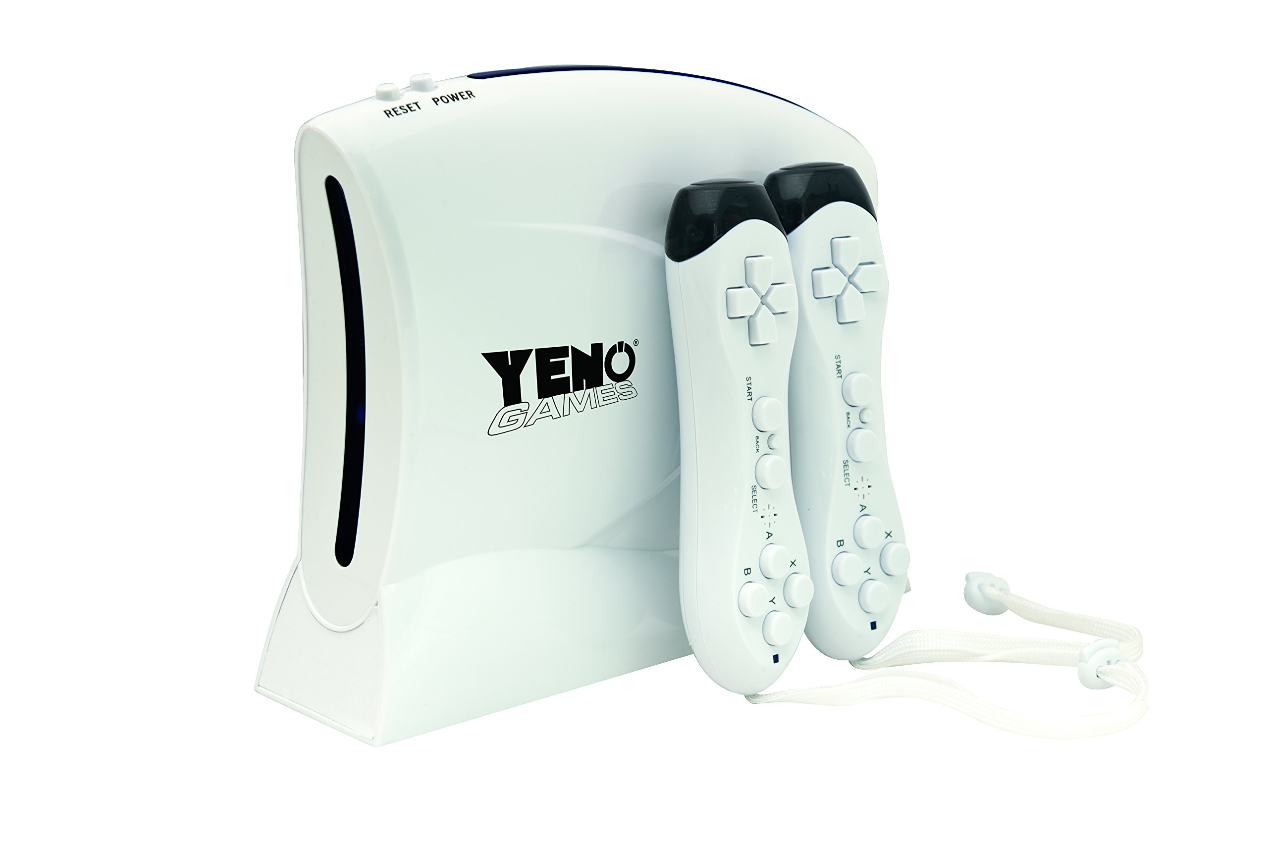 Lexibook Yeno TV Game Console 200-in-1 Electronic Games, Wireless controllers, Tennis, swimming, aerobics, bowling, skiing, beach volleyball, golf, arcade games - JG7420