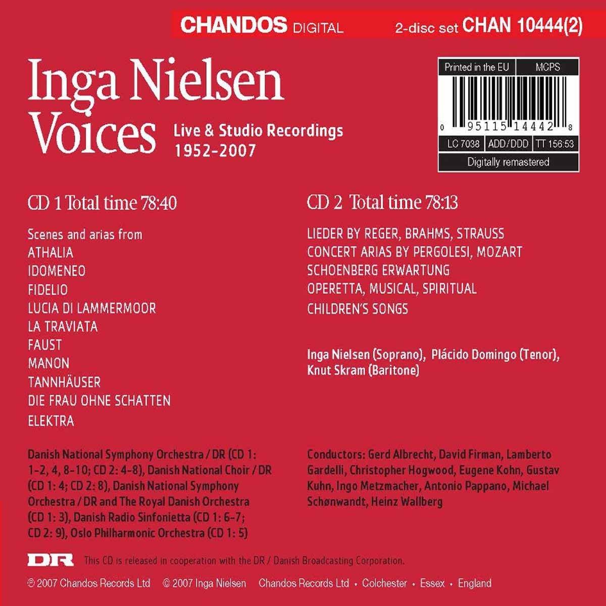 Voices: Live & Studio Recordings 1952-2007