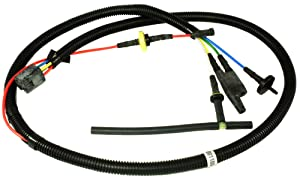 APDTY 53001100 Transfer Case Vacuum Line Wiring Harness Assembly Fits 1984-1993 Jeep Cherokee 4WD (See APDTY 711664 For The Transfer Case Switch That This Connects To This Harness)