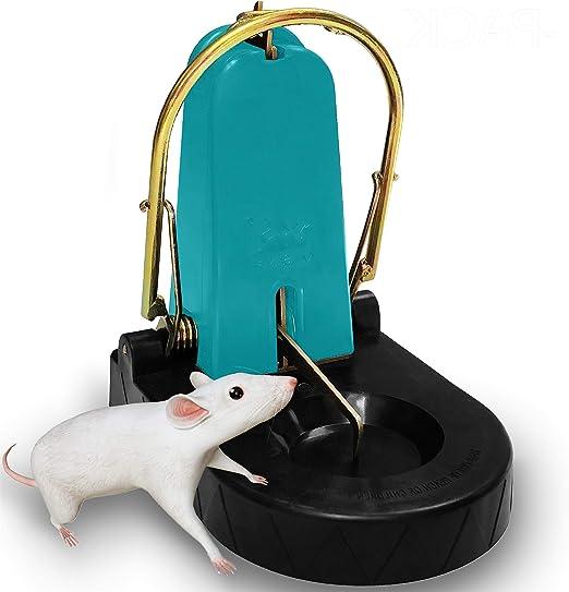 Rat Catching Traps Heavy Duty Snap Mouse Trap Easy Set Bait Pest Catcher KV