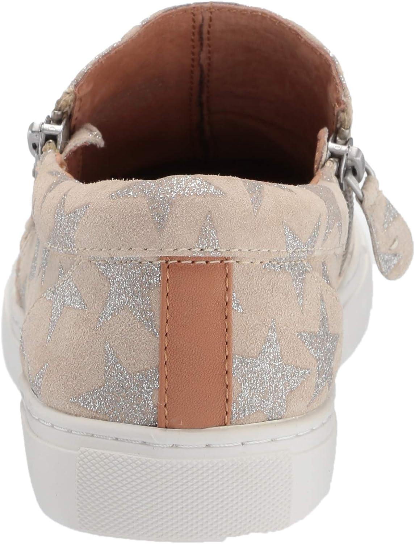 Gentle Souls Women's Lowe Double Zip Sneaker Off White