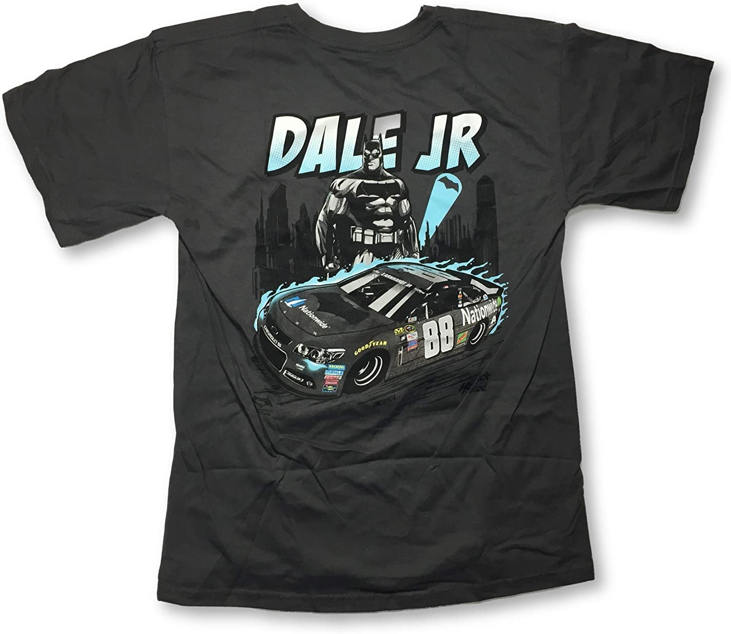 Checkered Flag Dale Earnhardt Jr #88 Crew Neck 2 Sided Adult T-Shirt