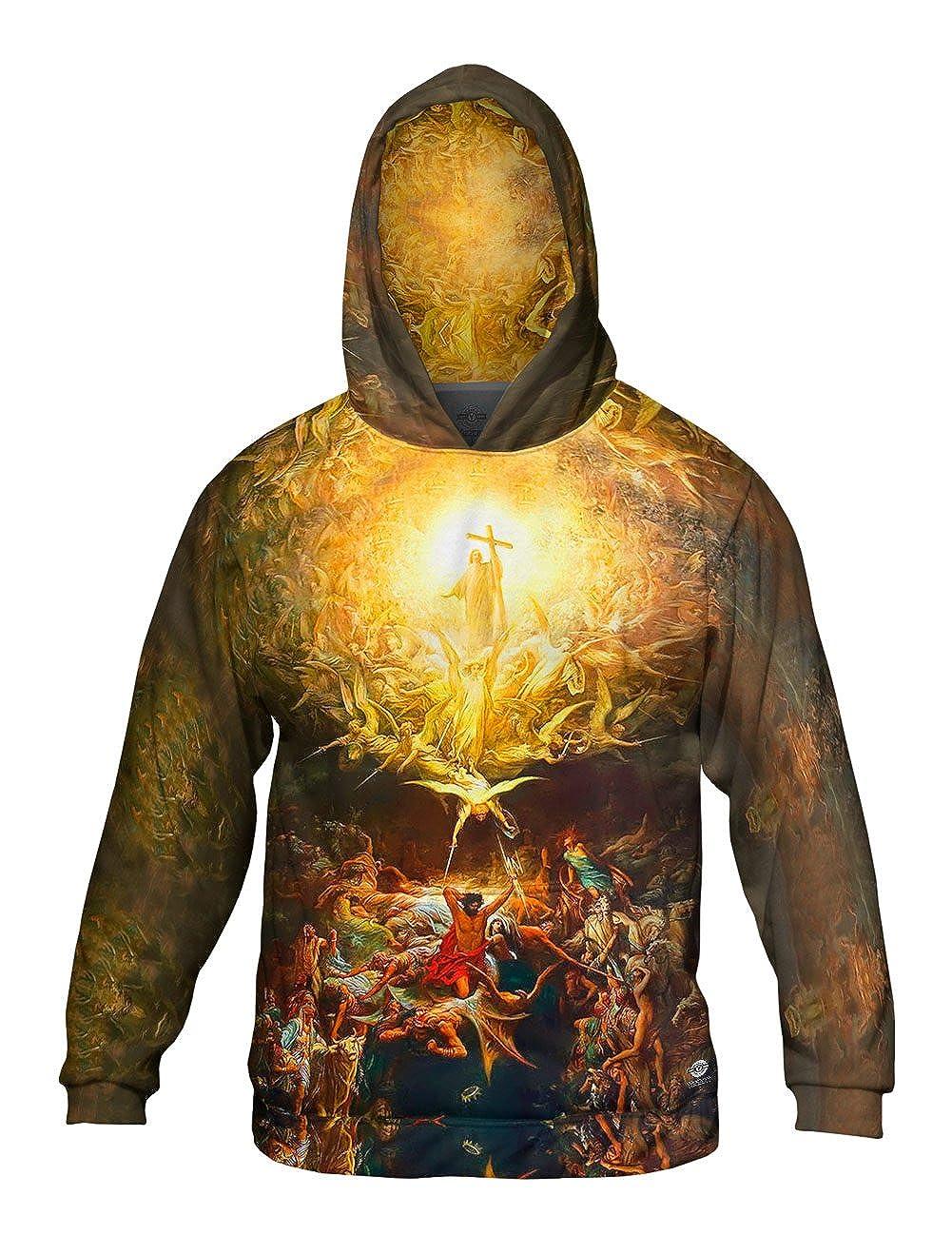 Mens Hoodie 2265 Allover Print Yizzam- Gustave Dore Triumph of Christi