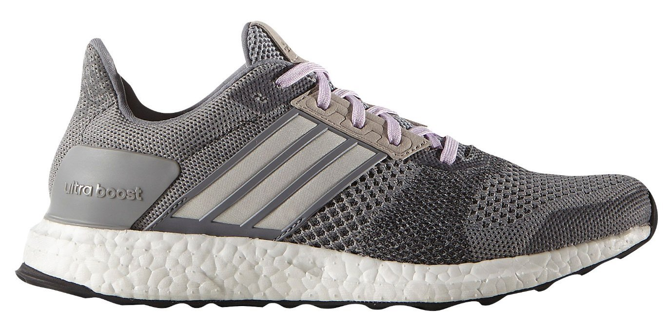 adidas Performance Women's Ultra Boost Street Running Shoe B01H6A8NNC 9.5 B(M) US|Grey/White