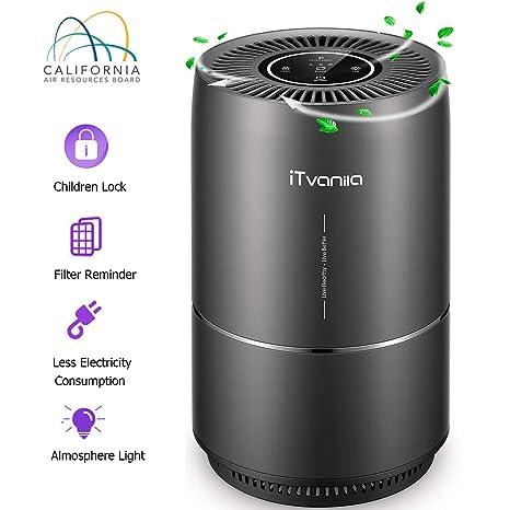 iTvanila Air Purifier, Air Purifier for Home Pet Hair