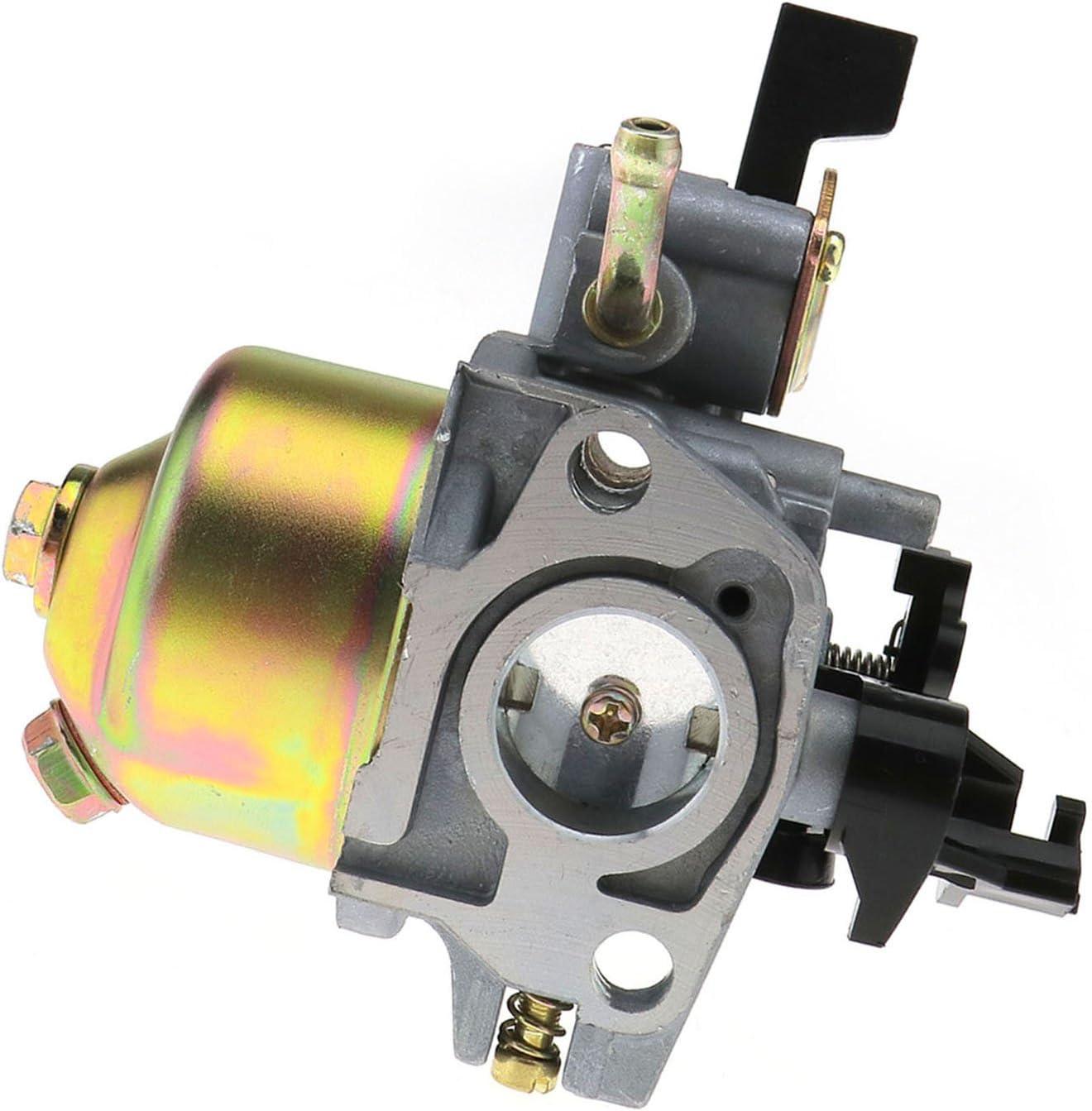 Carburador D2D de repuesto para cortacésped GXV120 GXV140 GXV160 HR194 HR195 HR214 HR215 HR216 con junta de combustible