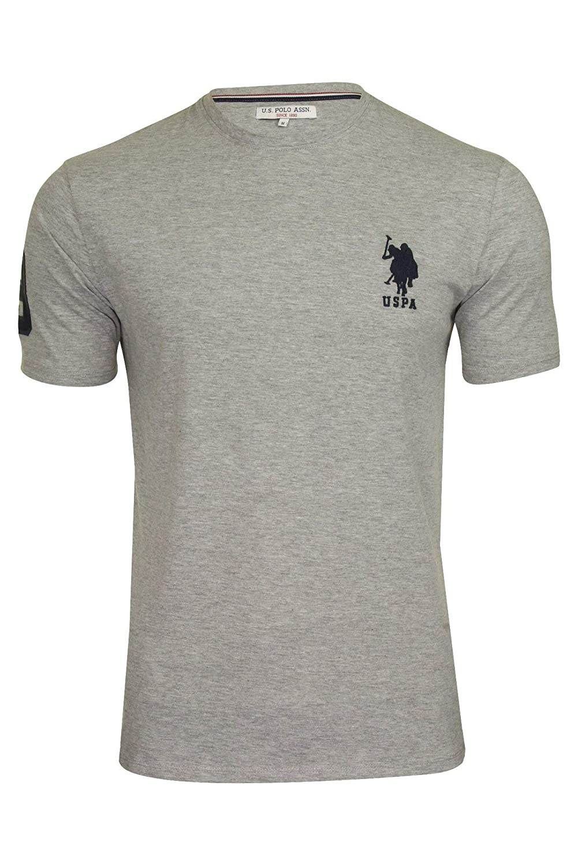 U.S Polo Assn. Camiseta para Hombre Large DHM Gris Gris L ...