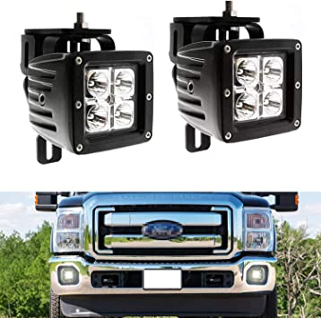 [SCHEMATICS_4ER]  Amazon.com: iJDMTOY LED Pod Light Fog Lamp Kit Compatible With 1999-2016 Ford  F250 F350 F450 Super Duty, Includes (2) 20W High Power CREE LED Cubes,  Foglight Location Mount Brackets & Wiring/Adapter Harnesses: | 2008 Ford F 250 Lights Wiring |  | Amazon.com