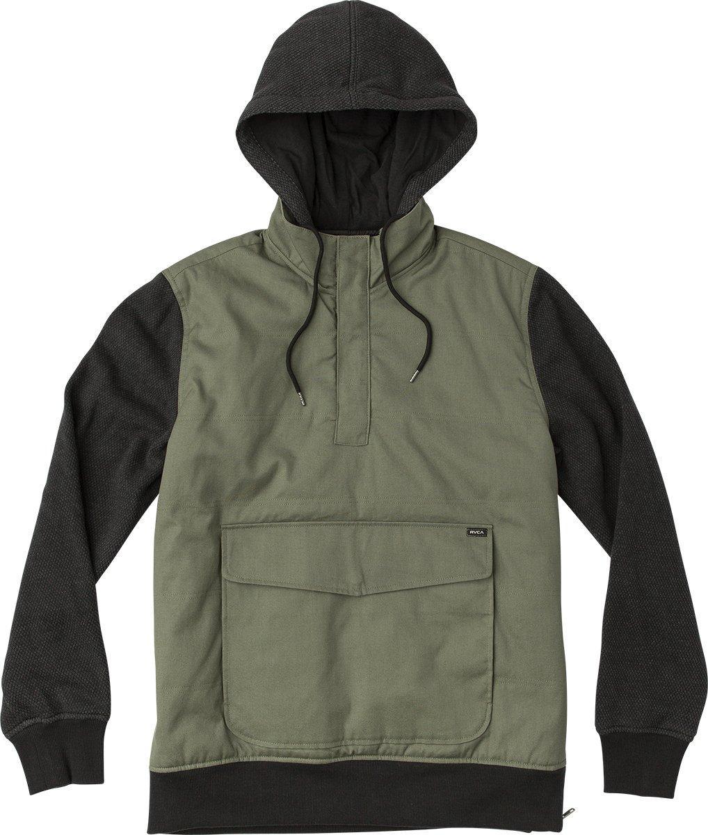 RVCA Men's Grip IT Puffer Jacket, Olive, M