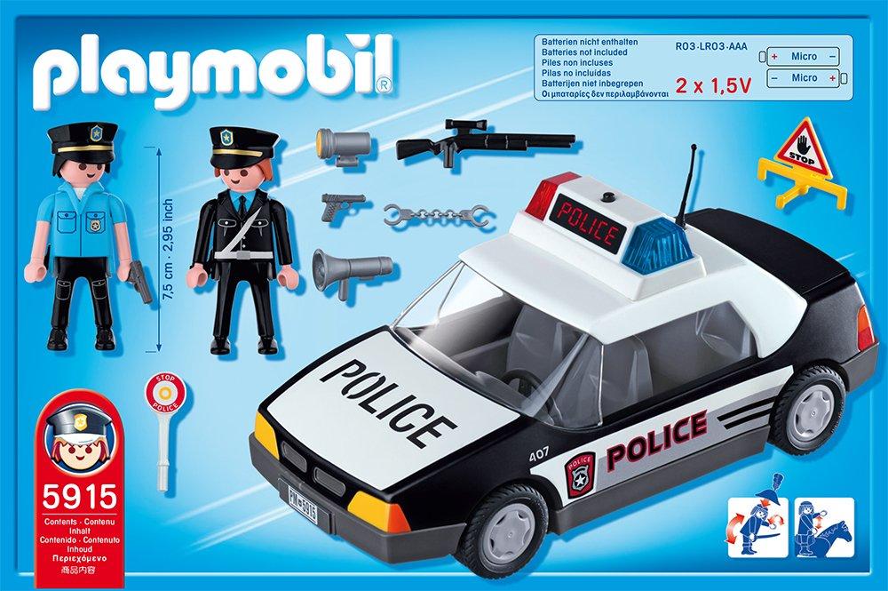 voiture police playmobil avec les meilleures collections d 39 images. Black Bedroom Furniture Sets. Home Design Ideas