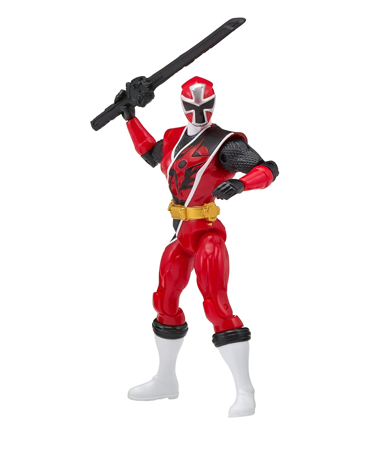 Power Rangers Super Ninja Steel Hero Action Figure, Red Ranger