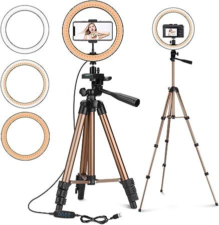 Selfie Ringlicht Mit Stativ Peyou 25 4 Cm Led Kamera