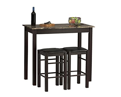 Linon Tavern Collection 3 Piece Table Set