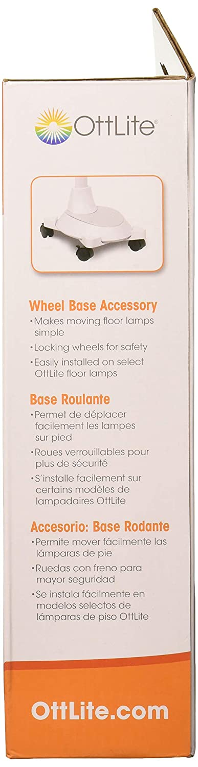 Amazon.com: OttLite OTT-Lite Wheel Base Accessory, White ...