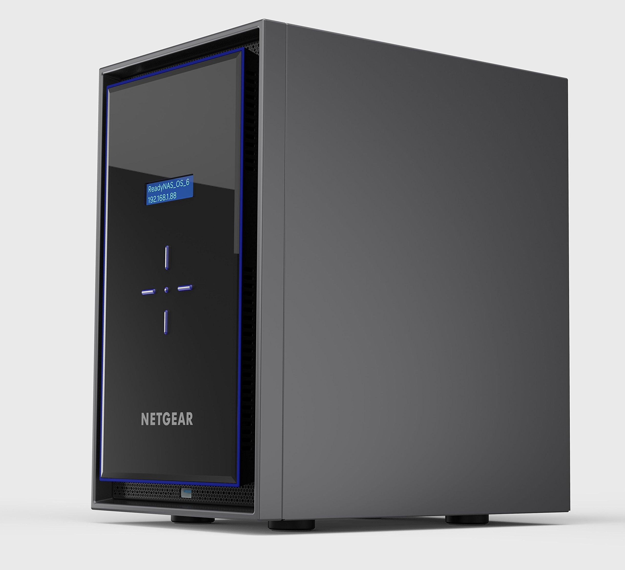 NETGEAR ReadyNAS RN428 8 Bay Diskless High Performance NAS, 80TB Capacity Network Attached Storage, Intel 2.1GHz Quad Core Processor, 4GB RAM, (RN42800) by NETGEAR (Image #2)