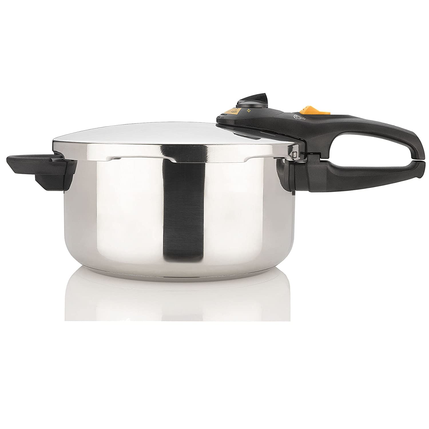 Fagor DUO 4 Quart - Multi-Setting Pressure Cooker and Canner with Accessories, Polished Stainless Steel - 918060242