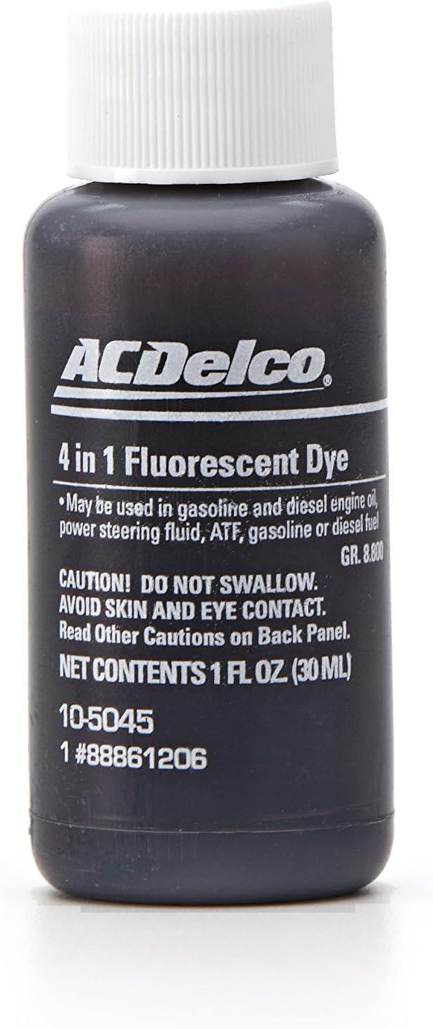 ACDelco 10-5045 Multi-Purpose Fluorescent Leak Detection Dye - 1 oz