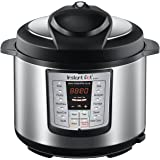 Instant Pot IP-LUX60 v2 6-in-1 Programmable Pressure Cooker, 6-Quart 1000-Watt