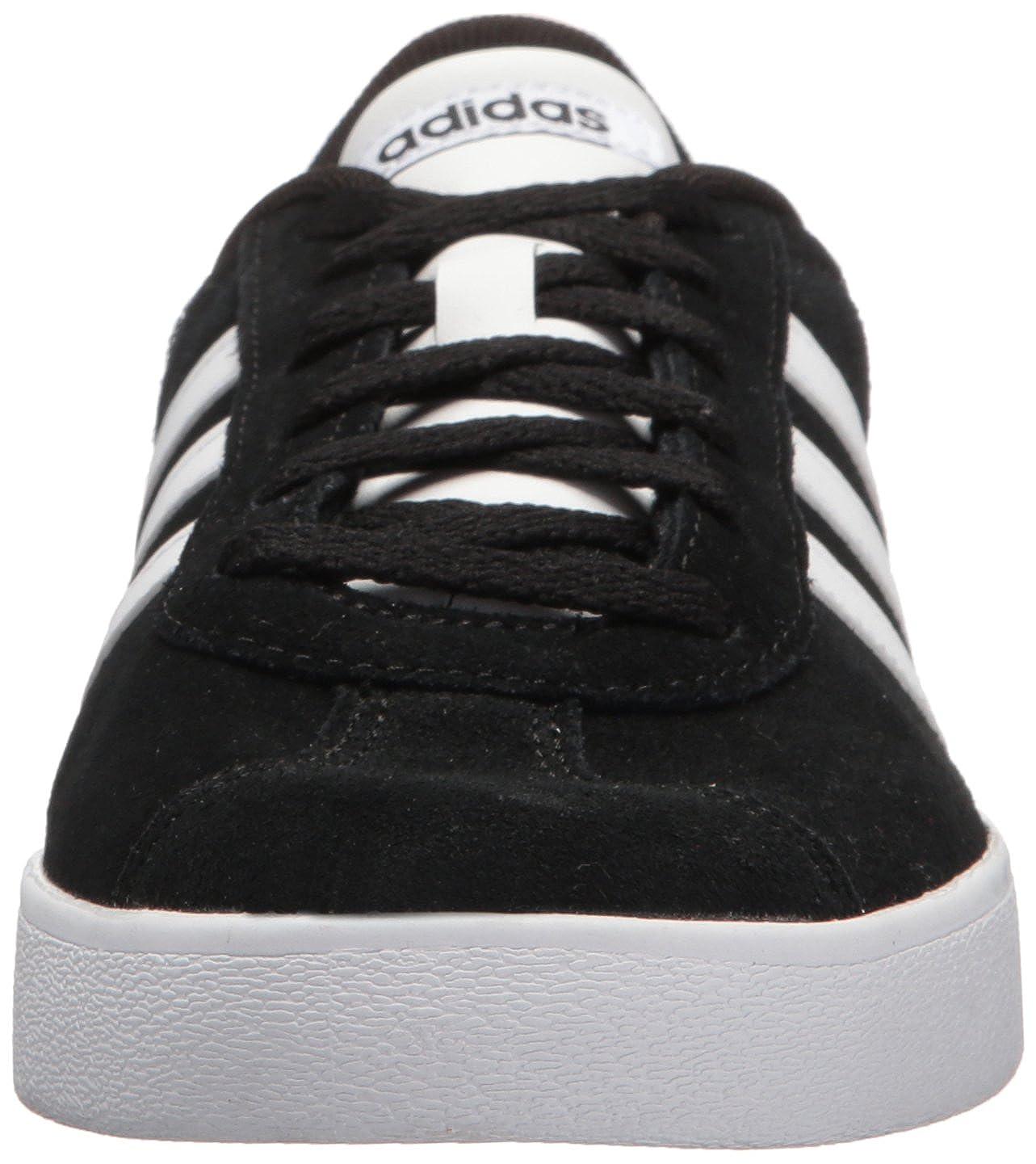caf473e0363 adidas Kids VL Court 2.0 Core Black White Core Black 4 M US Little Kid  DB1827
